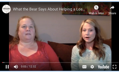 A little while back, a 3-year-old boy went missing in the woods. When he came back, he told his grandma that a bear stayed with him and kept him warm and safe. Here's what the bear says about helping the lost 3-year-old boy.